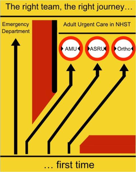 AMU pathway to the appropriate team