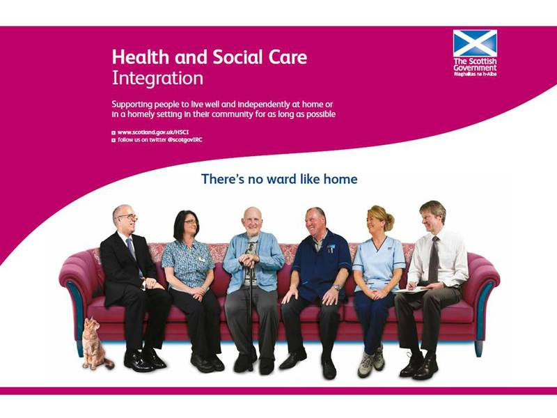 Health and Social Care Integration webpage