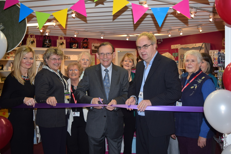 Tayside Health Fund Gift Shop Opens
