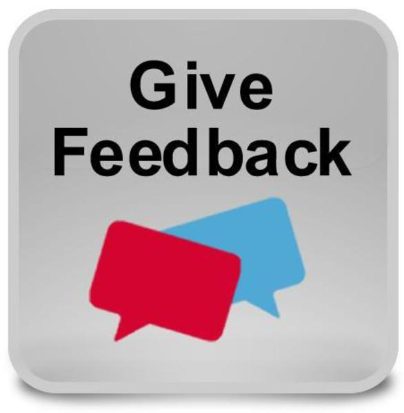 Give Feedback logo