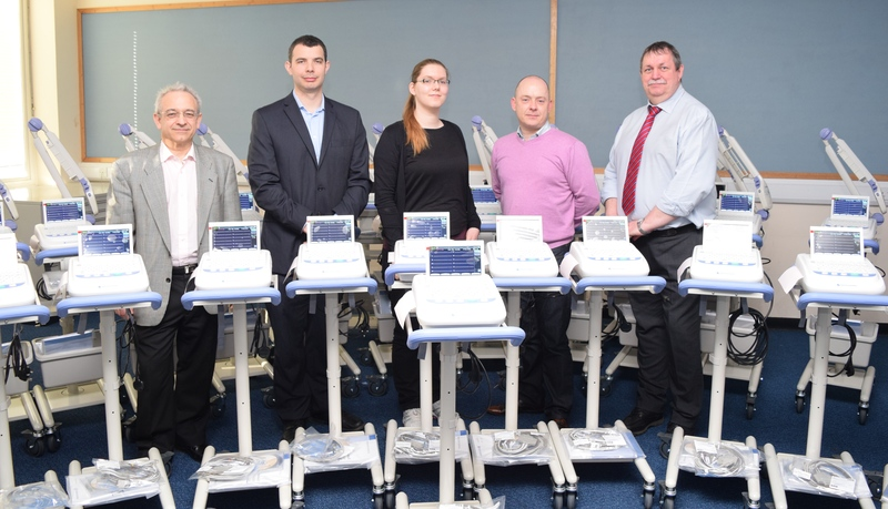 Scores of new heart monitors delivered across Tayside