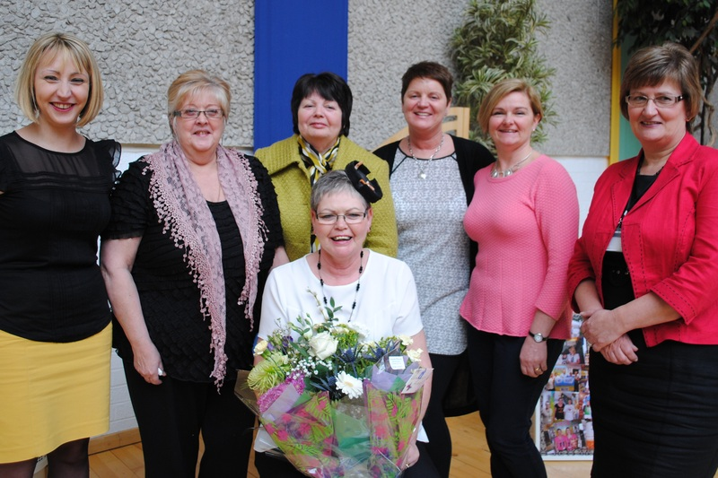 Smoking cessation coordinator retires after 36 years with NHS Tayside
