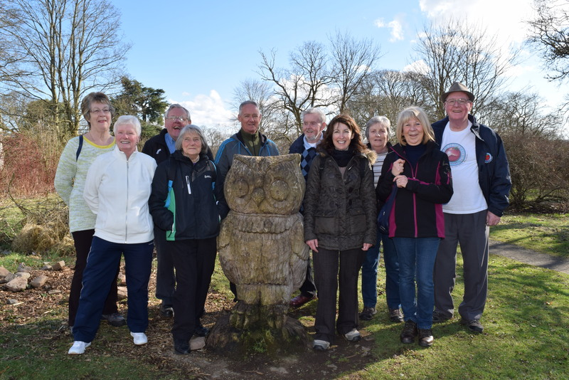 26-03-15 Walking group launches new routes at Ninewells and Royal Victoria Hospitals
