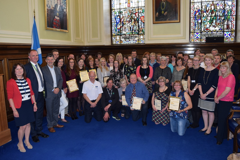 Healthy Working Lives Awards for Tayside workplaces