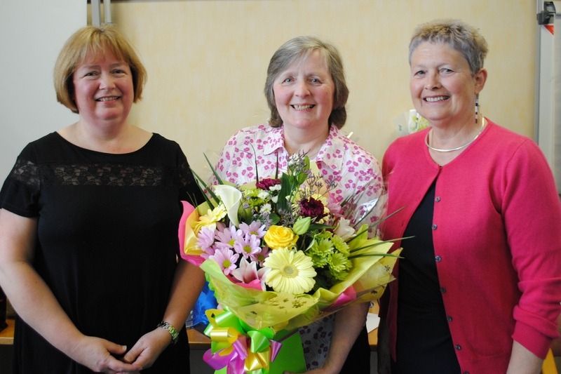 Jane retires after almost half a century with NHS Tayside
