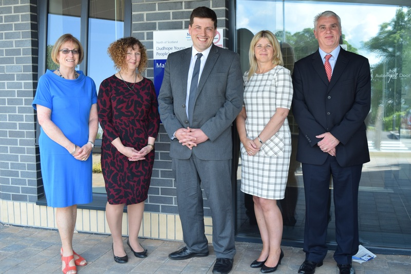 Mental Health Minister visits new Young People's Unit in Dundee