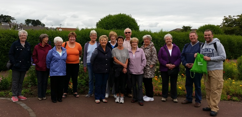 Steps Tay Health walk in Monifieth