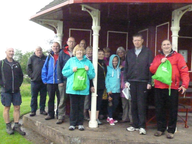Kirrie walking group celebrates first anniversary