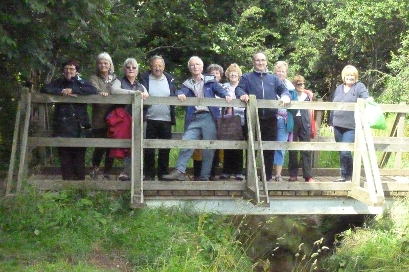 Forfar walkers take Steps Tay Health