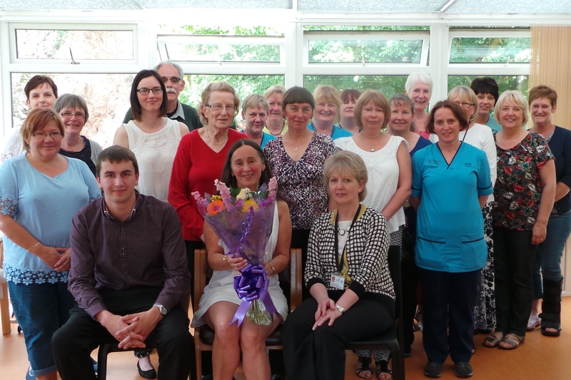 26-08-15 Heather retires after 42 years service