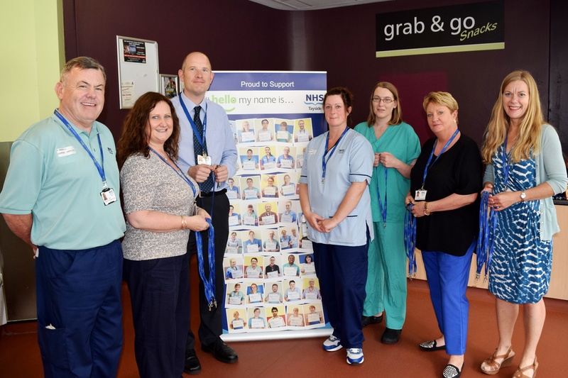 �Hello my name is ...� campaign launched in NHS Tayside