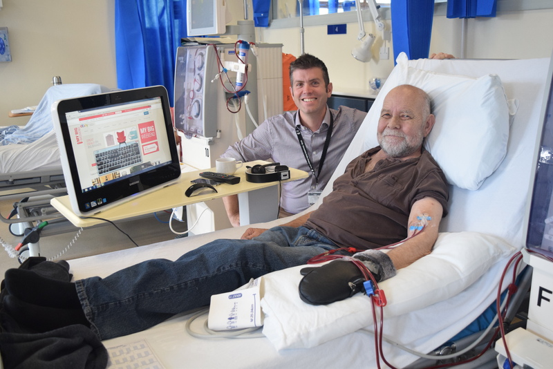 NHS Tayside helping patients stay connected with free wifi