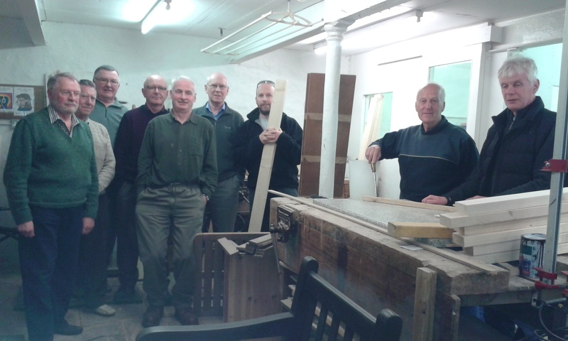 Men�s Shed project in Strathmore � under construction!