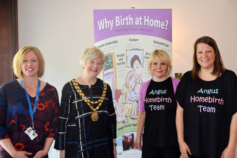 18-05-16 Launch of Angus homebirth service