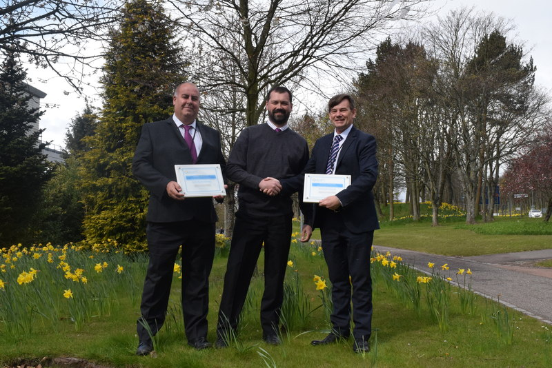 19-05-16 NHS Tayside wins Keep Scotland Beautiful Awards