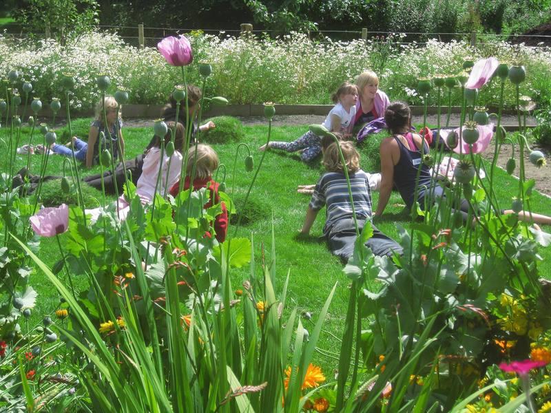 Ladybird Kids Club at Ninewells community garden