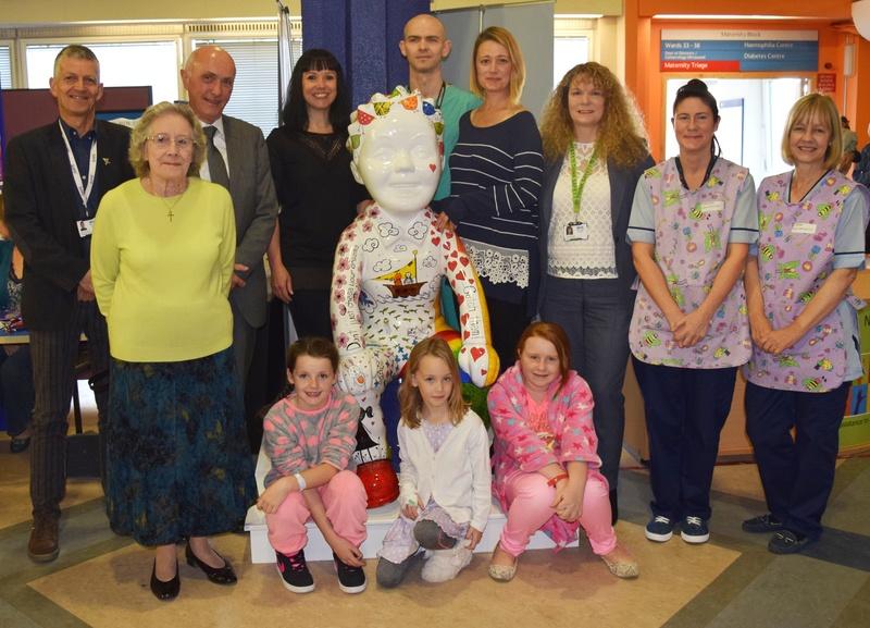Jings Crivens Oor Dreamcatcher Wullie is noo hame at Ninewells Hospital