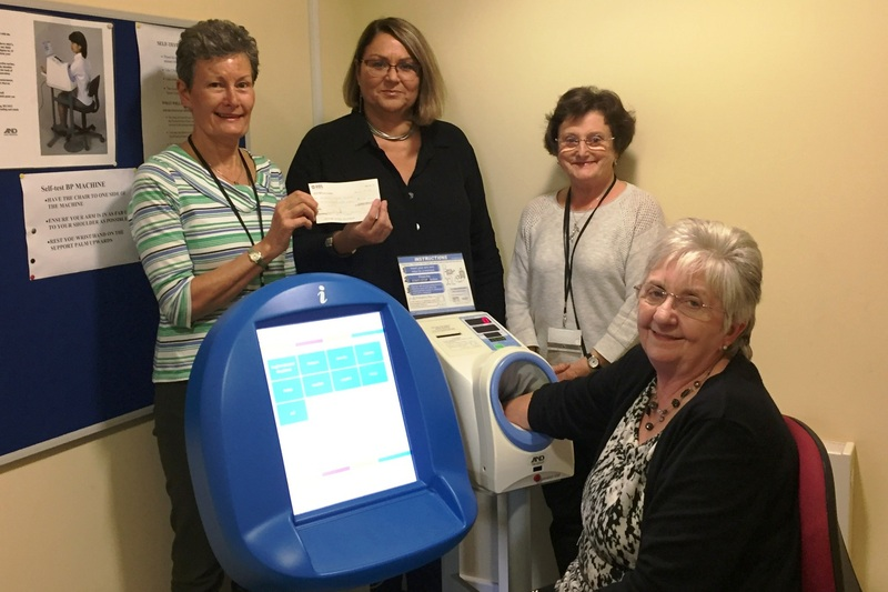 Academy Medical Centre installs new self-test machine