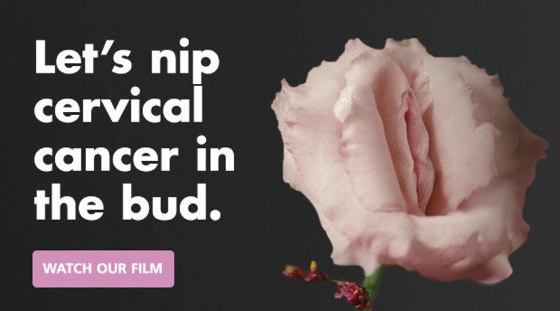 Cervical screening flower