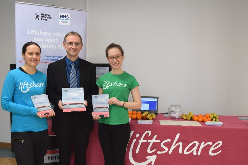 NHS Tayside supports Liftshare