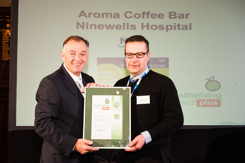 Ninewells cafe achieves healthy living award