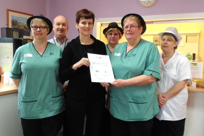 Eat Safe Awards for Angus Hospital Kitchens