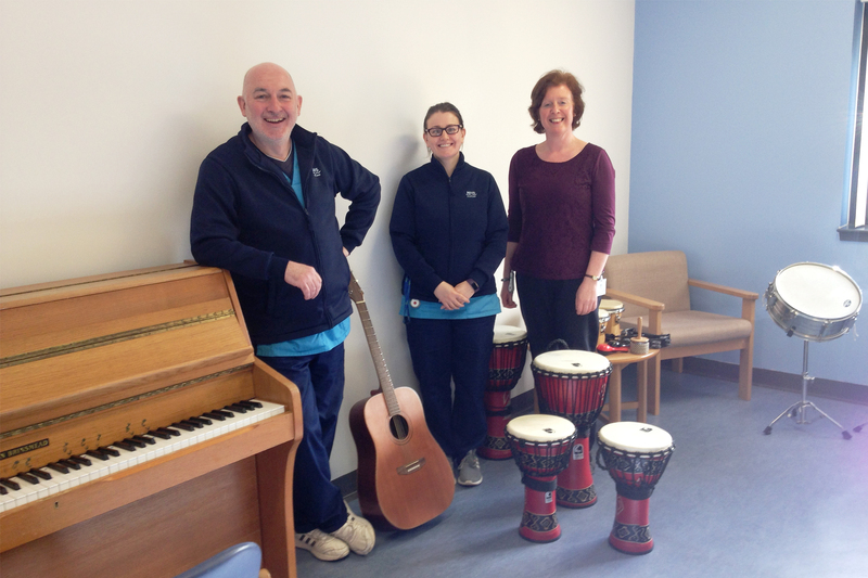 Music therapy project strikes a chord at Murray Royal
