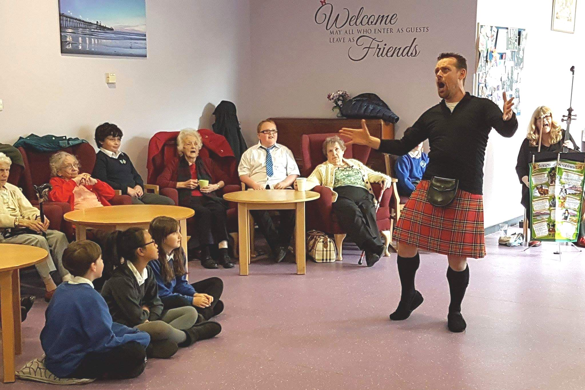 Performance tour for care home residents in Perth and Kinross