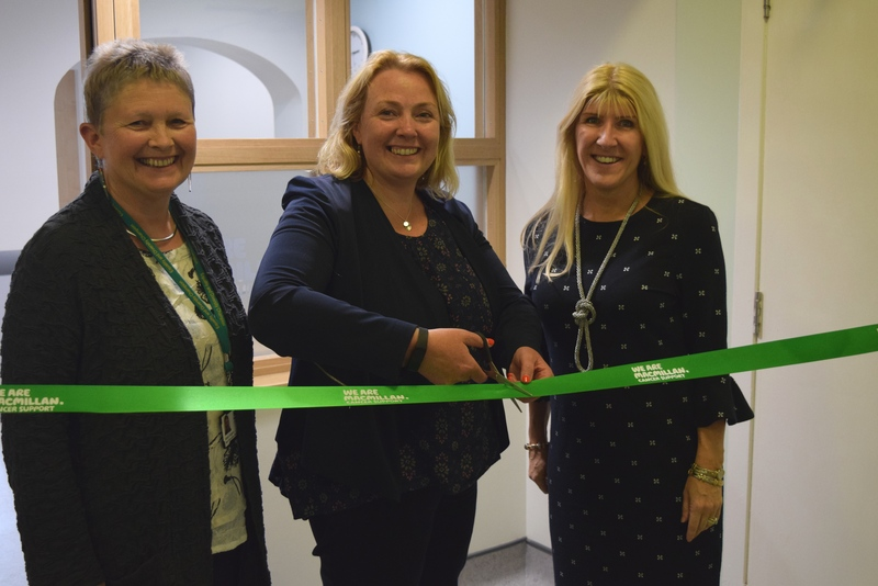 Macmillan Day Care Centre Arbroath Opening