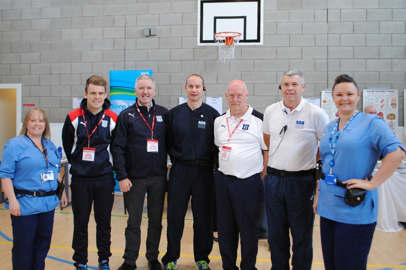 Prison Healthcare Team hosts Well Person Day at HMP Castle Huntly