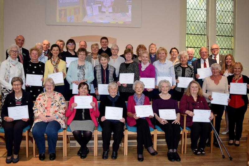 Celebrating volunteering in NHS Tayside