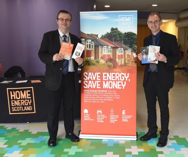 NHS Tayside supports energy efficiency campaign