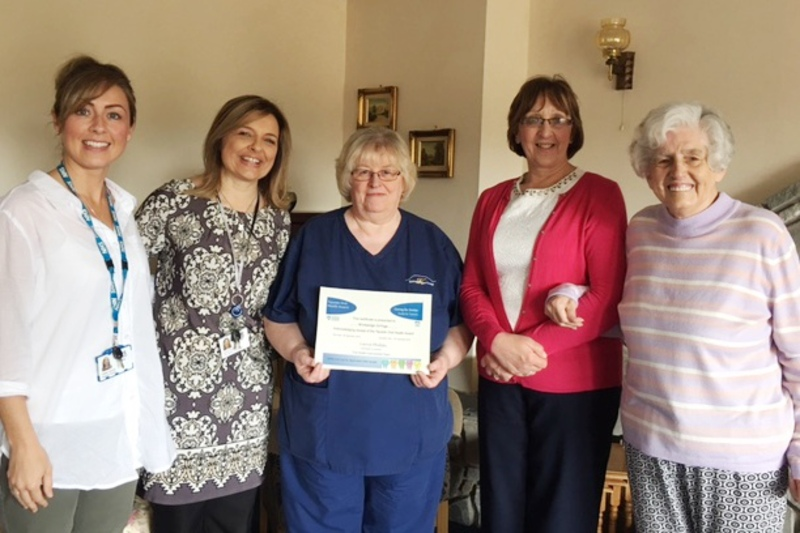 Oral Health Award for Forfar care home