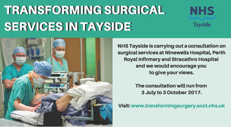 Shaping Surgical Services news banner