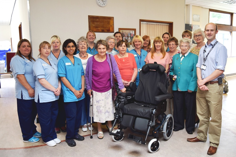 Specialist wheelchair for stroke patients