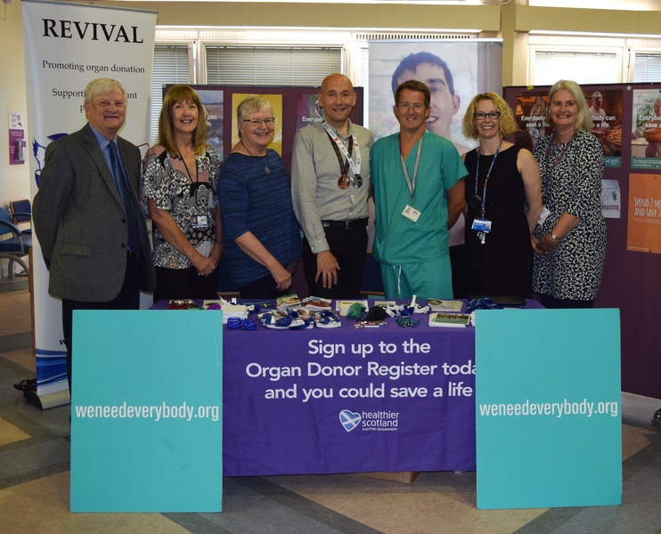 NHS Tayside  supports Organ Donation Week