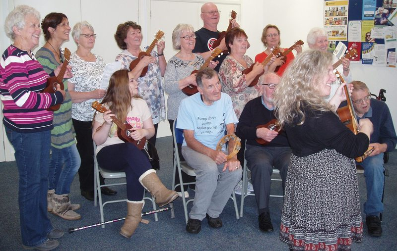 Social singing in Blairgowrie