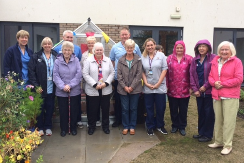 Angus dementia patients go green-fingered thanks to Friends donation