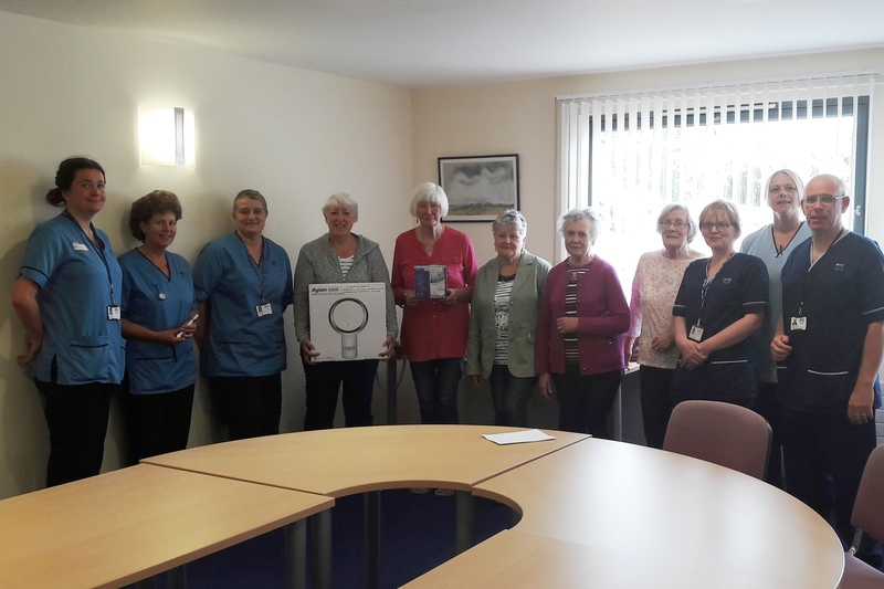 Arbroath patients benefit from generous donation by League of Friends
