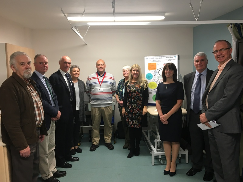 Visit to Letham Health and Wellbeing Centre