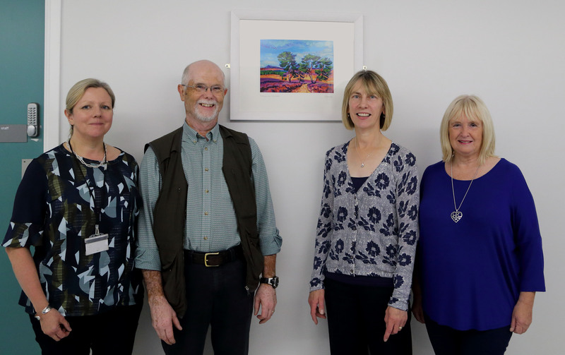 Local artists donate artwork to PRI Radiology department