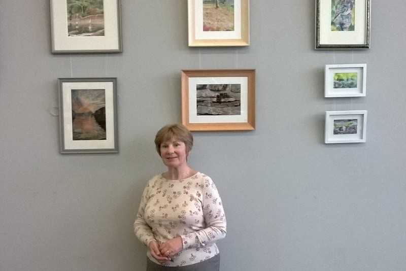 New art exhibition at Stracathro cafe