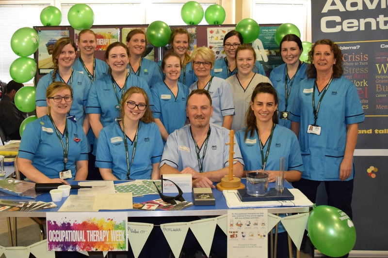 NHS Tayside supports Occupational Therapy week