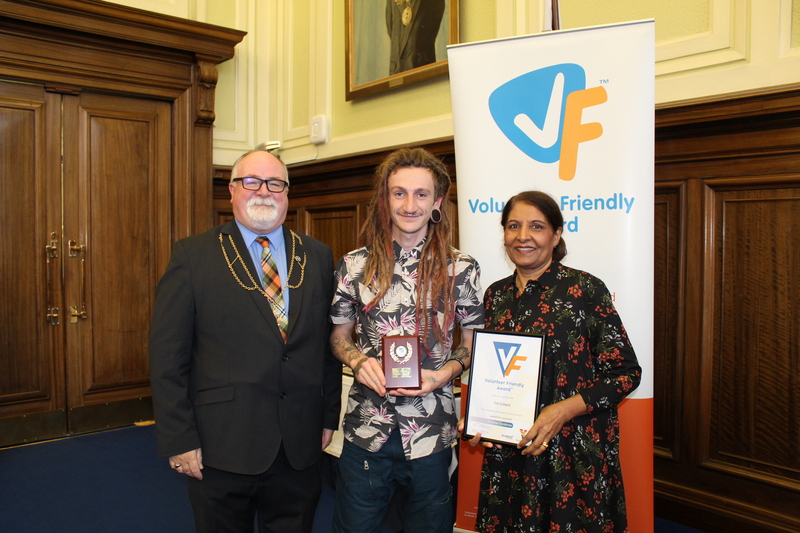 The Corner recognised with Volunteer Friendly Award