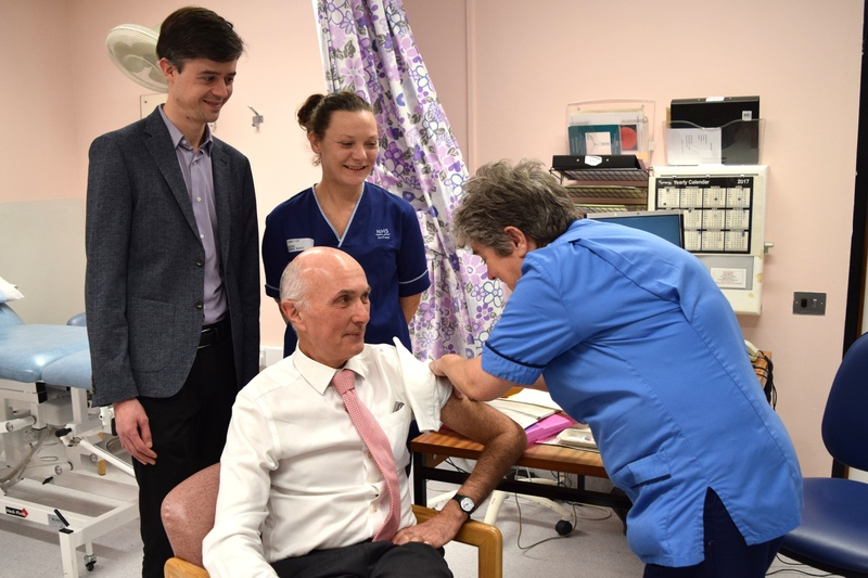 Flu vaccine � have you had the jab