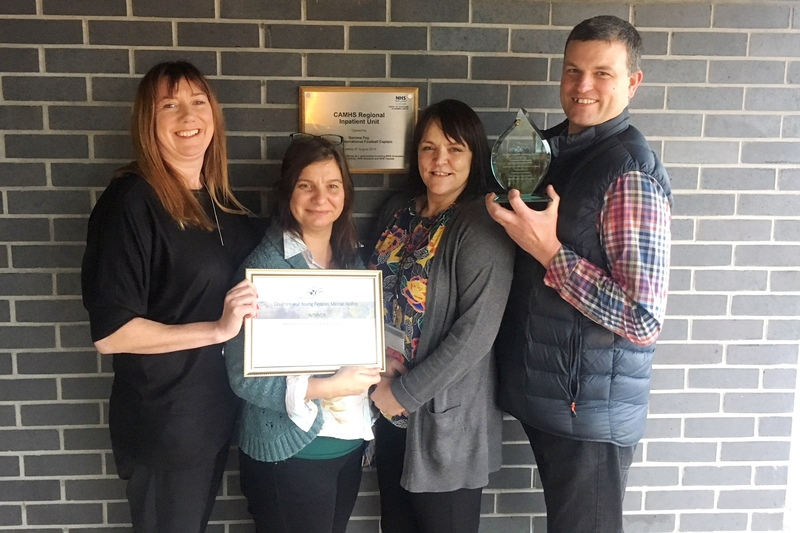 Tayside mental health nurses recognised for excellence in practice