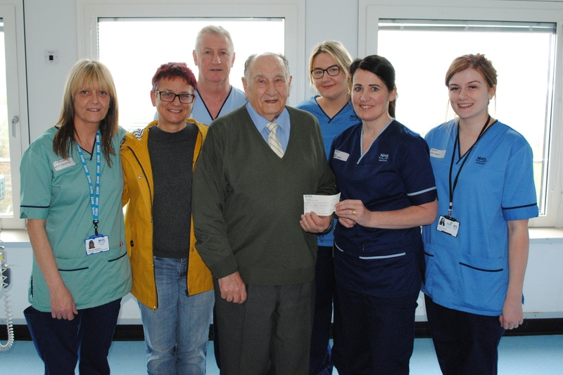 08-05-18 Lovely donation in memory of Doreen Dall