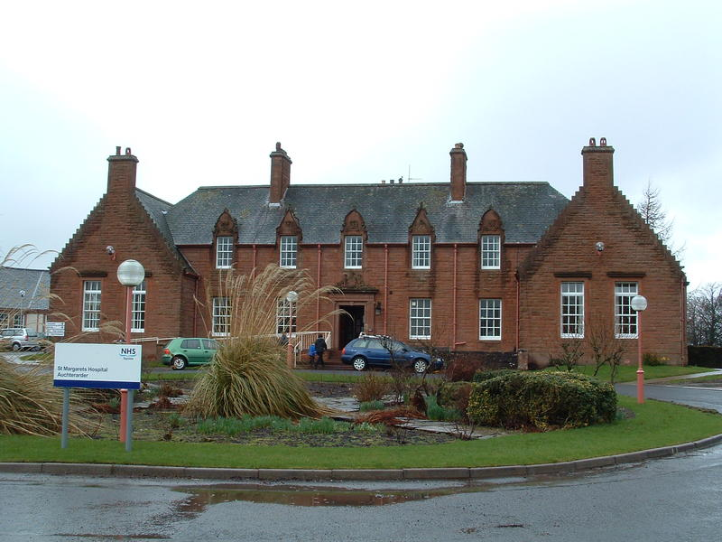 picture of st margarets hospital auchterarder