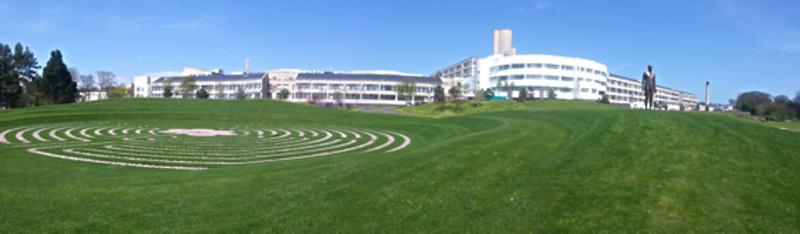Ninewells panoramic image
