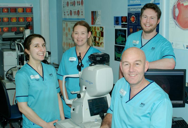 opthalmology team photo